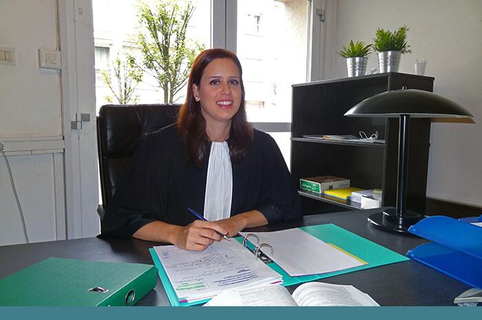 Selma Ben Malek, avocate à Strasbourg